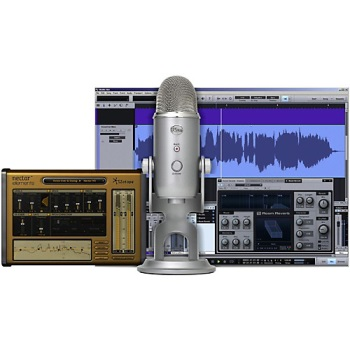 Blue Yeti Studio USB Mic and Software Bundle