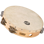 "Latin Percussion CP380 CP 10"" Headed Tambourine"