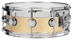 Drum Workshop 6X14 Top Edge Collectors Series Maple/Brass Snare Drum