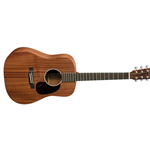 Martin Dreadnought Junior 2e Sapele Acoustic/Electric Guitar