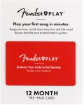 Fender Play 12-Month Discounted Subcription