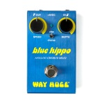 Way Huge Smalls Blue Hippo Analog Chorus Guitar Effects Pedal; WM61