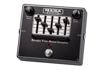 Mesa/Boogie Boogie Five-Band Graphic Equalizer Effects Pedal