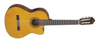 Yamaha CGX122M-CC Cutaway Classical Acoustic/Electric Guitar