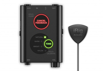 IK Multimedia iRig Acoustic Stage Pickup System