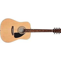 Fender CD-60S Dreadnought Acoustic Guitar Starter Package; 0961281021