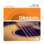 D'Addario EJ15 Phosphor Bronze Extra Light Acoustic Guitar String Set