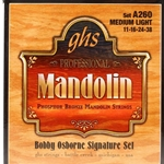 GHS A260 Mandolin Osborne Phosphor Bronze Medium Light Strings