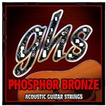 GHS S325 Light Gauge Acoustic Guitar Phosphor Bronze String Set