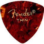 Fender 346 Shape Thin Classic Celluloid Pick -12 Pack-