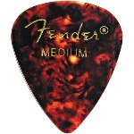 Fender 351 Shape Medium Classic Celluloid Pick -12 Pack-