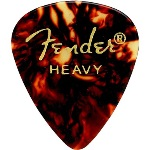 Fender 351 Shape Heavy Classic Celluloid Pick -12 Pack-