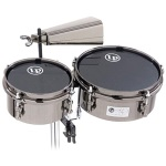 Latin Percussion 845-JD John Dolmayan Mini Timbales with Cowbell & mount pack