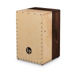 Latin Percussion LP1422 Americana Solid Black Walnut/Hard Maple Cajon