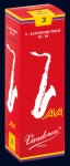 Vandoren Java Red Tenor Saxophone Reeds; 5 Box