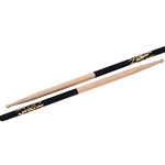 Zildjian 7A Wood Tip Black Dip Drumsticks