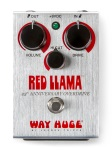 Way Huge Red Llama 25th Anniversary Overdrive Effects Pedal; WHE206