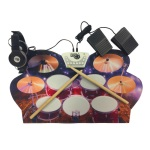 Mukikim Rock and Roll it Drum Live Kit; MUK-W1008M
