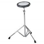 Remo Practice Pad with Stand - Tunable Ambassador Coated