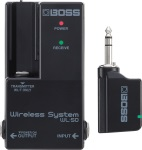 Boss WL-50 Guitar / Instrument Pedal Board Wireless System