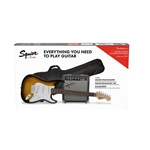 Squier Stratocaster Guitar and Amp Package