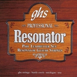 GHS PL1650 Phil Leadbetter Signature Resonator Guitar String Set