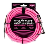 Ernie Ball Braided Straight / Angle Instrument Cable