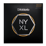 D'Addario NYXL50105 Bass Guitar String Set, Long Scale, Medium 50-105