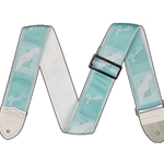 "Fender 09906270 2"" Custom Color Fender Monogrammed Strap"