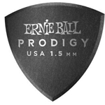 Ernie Ball 1.5mm Black Large Shield Prodigy Picks 6-pack