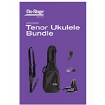 On Stage Tenor Ukulele Bag & Accessory Bundle; UPK3000