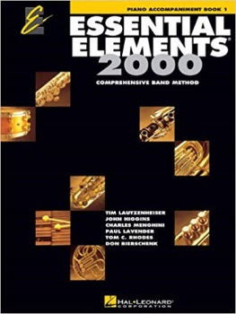 Essential Elements for Piano 2000 Book 1; 00862584