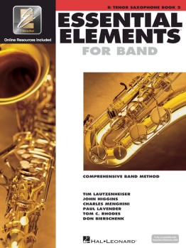 Essential Elements for Tenor Saxophone Book 2; 00862595