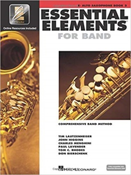 Essential Elements for Baritone Saxophone Book 2; 00862596