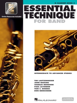 Essential Technique for Clarinet Book 3; 00862620