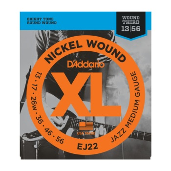 D'Addario EJ22 Nickel Wound Jazz Medium Electric Guitar String Set
