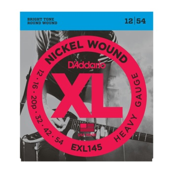 D'Addario EXL145 Nickel Wound Heavy Electric Guitar String Set