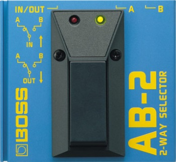 Boss AB-2 2-Way Selector Switch