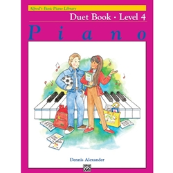 Alfred Duet Book Level 4; 00-2394