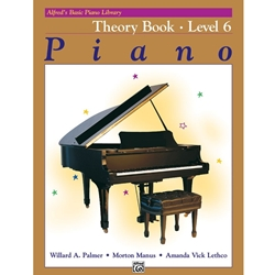 Alfred Theory Book Level 6; 00-2517