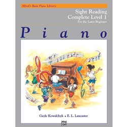 Alfred Sight Reading Complete Book Level 1; 00-5744