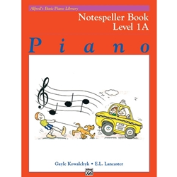 Alfred Notespeller Book Level 1A; 00-6186