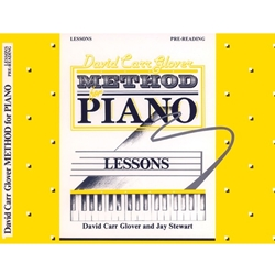 David Carr Glover Method for Piano, Lesson Book Pre-Reading; AL00FDL00999