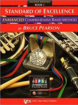 Baritone Saxophone Standard of Excellence Enhanced Version Book 1