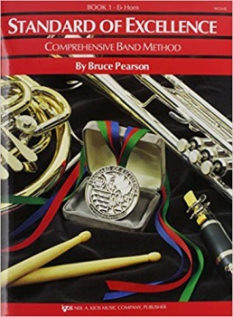 Eb Horn Standard of Excellence Book 1