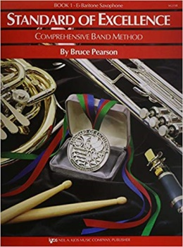 Baritone Saxophone Standard of Excellence Book 1