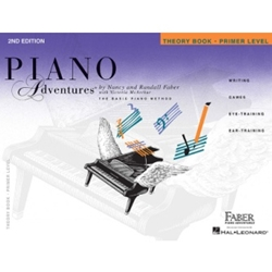 Faber Piano Adventures Theory Book, Primer Level; FF1076