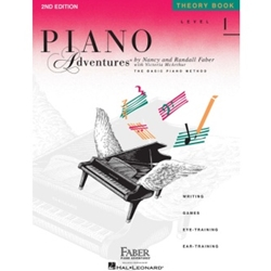Faber Piano Adventures Theory Book Level 1; FF1079