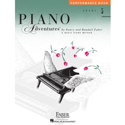 Faber Piano Adventures Perfomance Book Level 5; FF1095