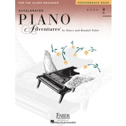Faber Accelerated Piano Adventures Performance Book 2; FF1212